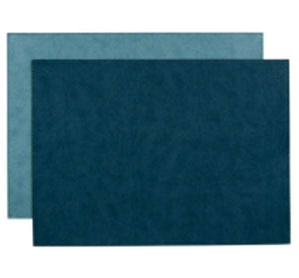 Reversible Gallery Placemat in Lagoon & Seafoam (Set of 4)