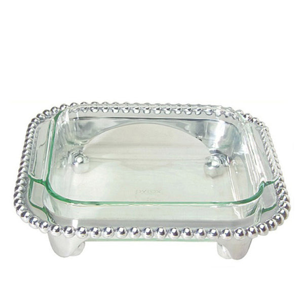Pearled Square Casserole Caddy