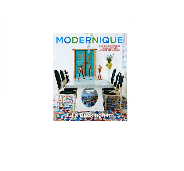 "Designer Julia Buckingham's ""Modernique"" Book of Interiors"