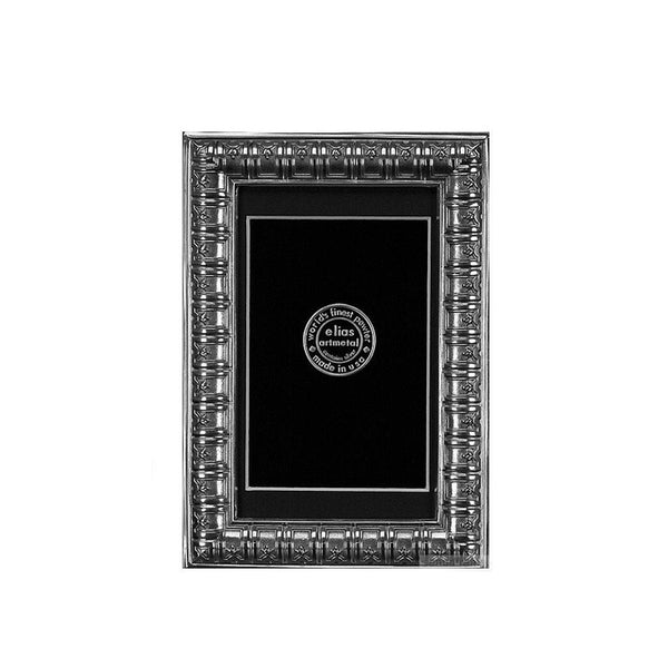 Bibliotheque Frame 4X6 In Pewter
