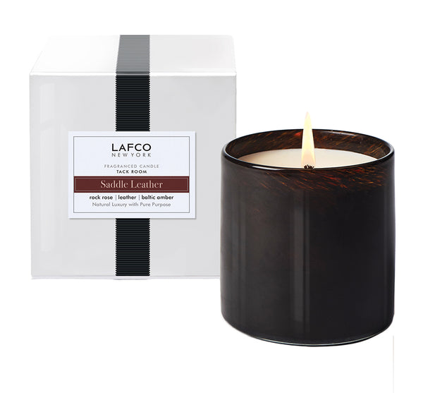 "Saddle Leather ""Tack Room"" Candle"