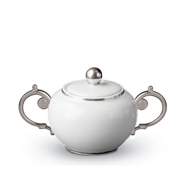 Aegean Platinum Sugar Bowl