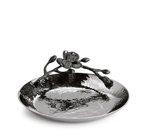 Black Orchid Trinket Tray