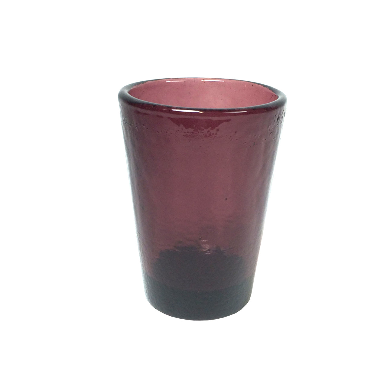 Recycled Glass Plum Small Tumbler