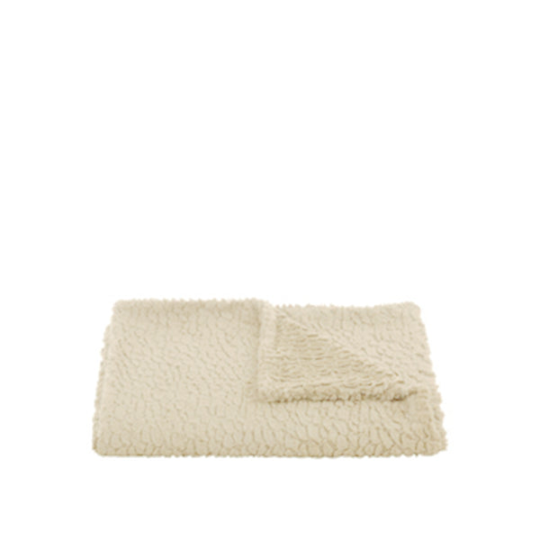 Eliza Ivory Throw in Ivory