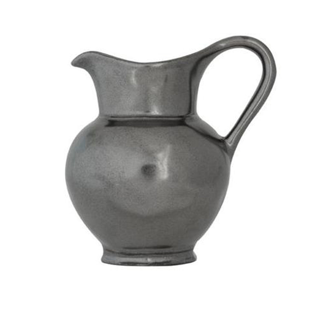 Pewter Ceramic Creamer