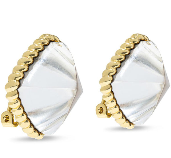Blandine Clip  Earrings (Available in 2 Colors)