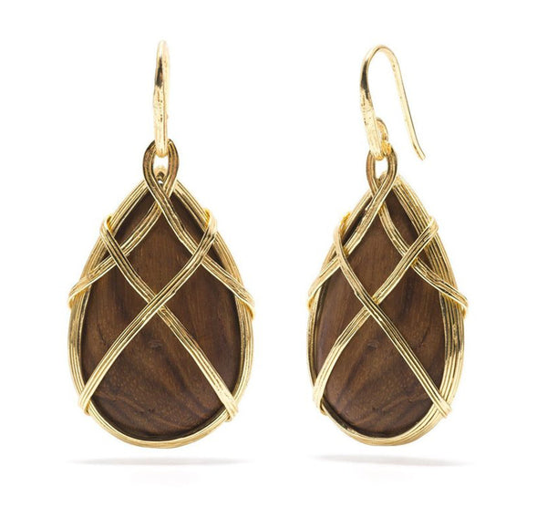 Earth Goddess Drop Earrings