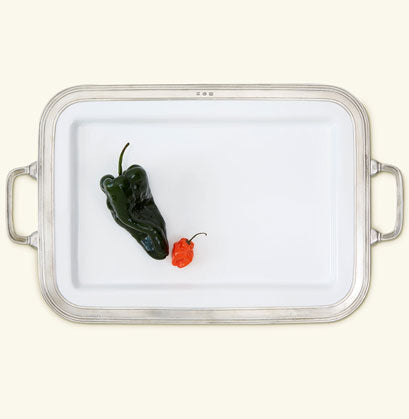 Gianna Rectangular Handled Platter (Available In 2 Sizes)