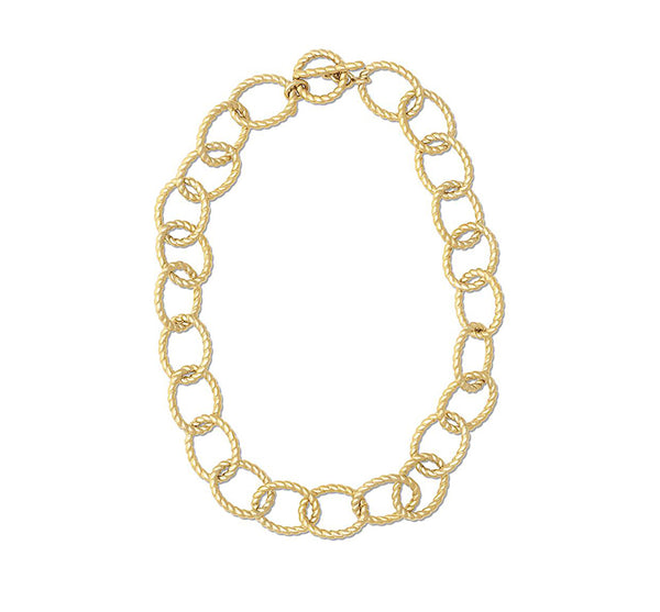Grand Victoria Rope Link Necklace