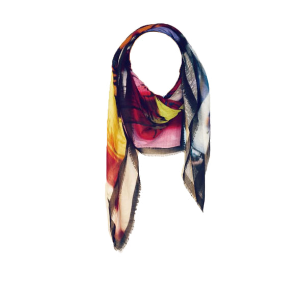 Wild Feathers Scarf