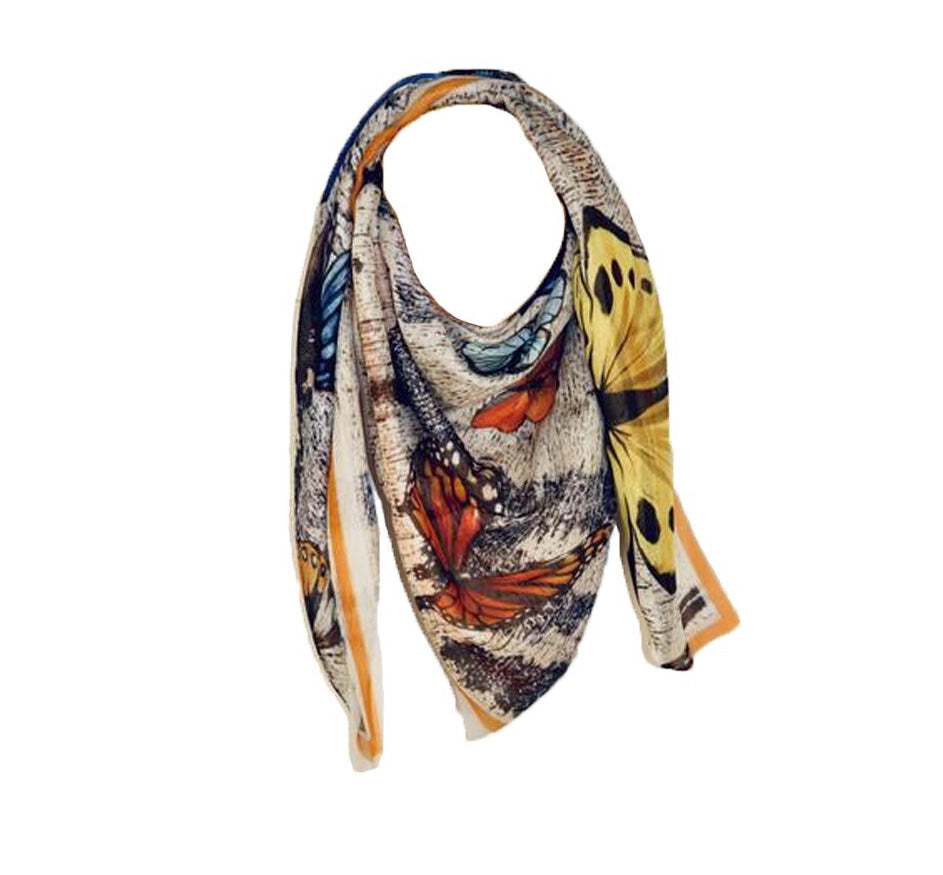 Le Papillon (Butterfly) Scarf