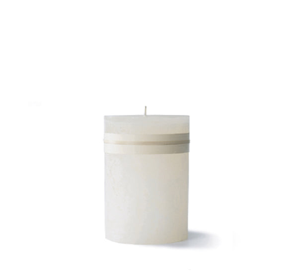 Melon White Timber Candle