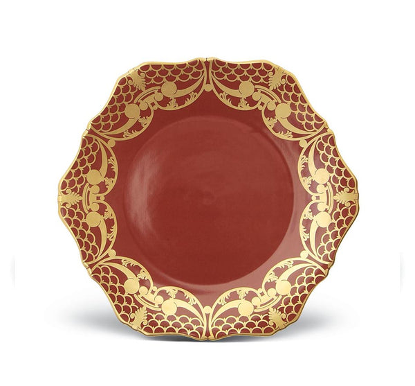Alecon Dinner Plate in Rouge