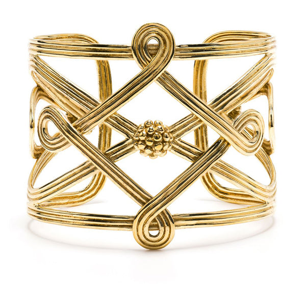 Monique Compass Cuff Bracelet