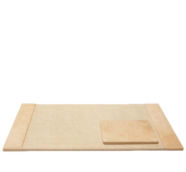 HYDE DESK BLOTTER & MOUSE PAD IN Beige