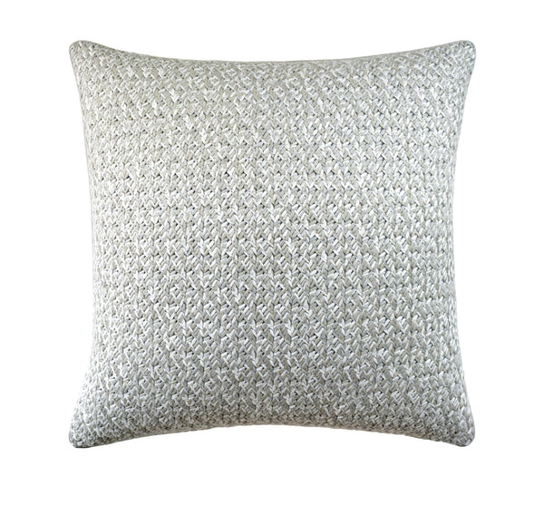 Lacing Pillow in Cloud