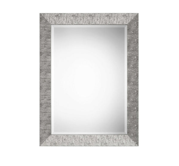 Metallic Silver Mirror