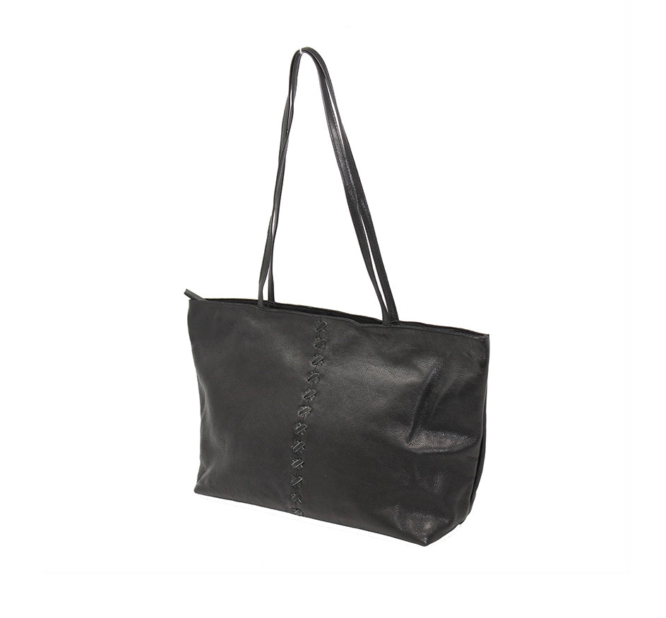Ex-Marked Tote in Black