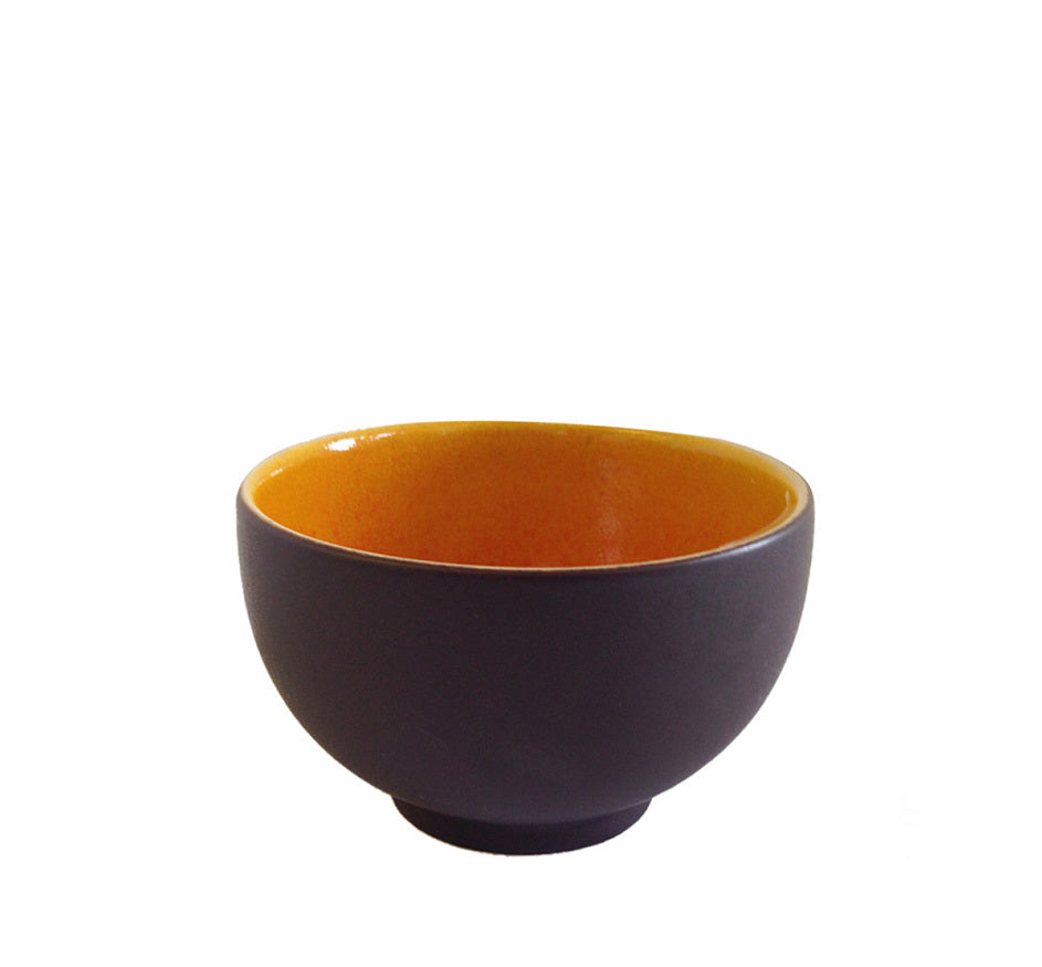 Tourron Tea Bowl Orange