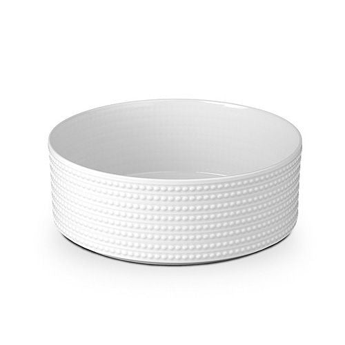 Perlee Vertical Serving Bowl in White
