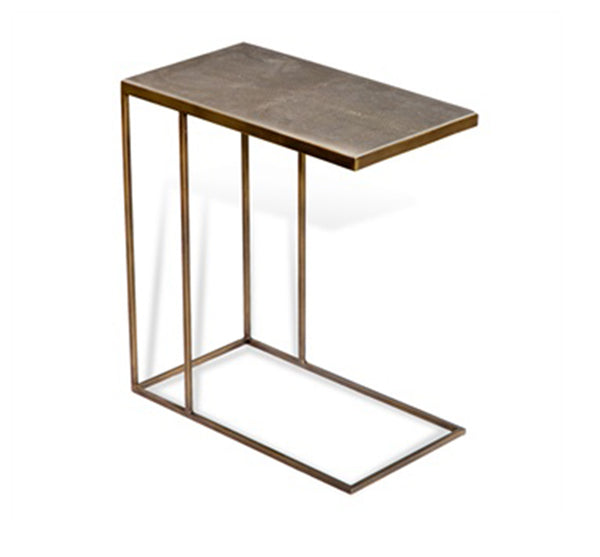 Johannes Hugging Table in Shagreen