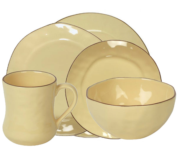 Cantaria Dinnerware Collection in Almost Yellow
