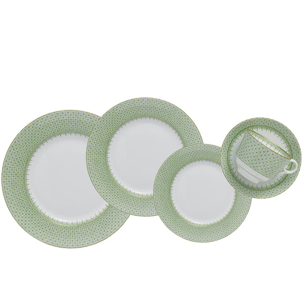 Lace Dinnerware Collection in Apple