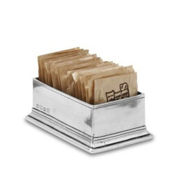 Pewter Sugar Packet Holder