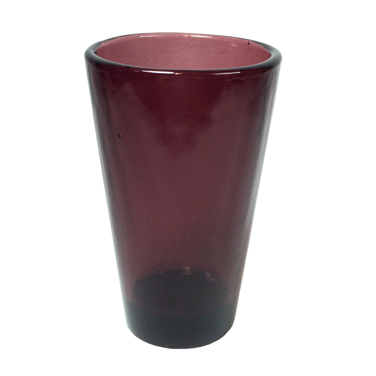Recycled Glass Plum Large Tumbler