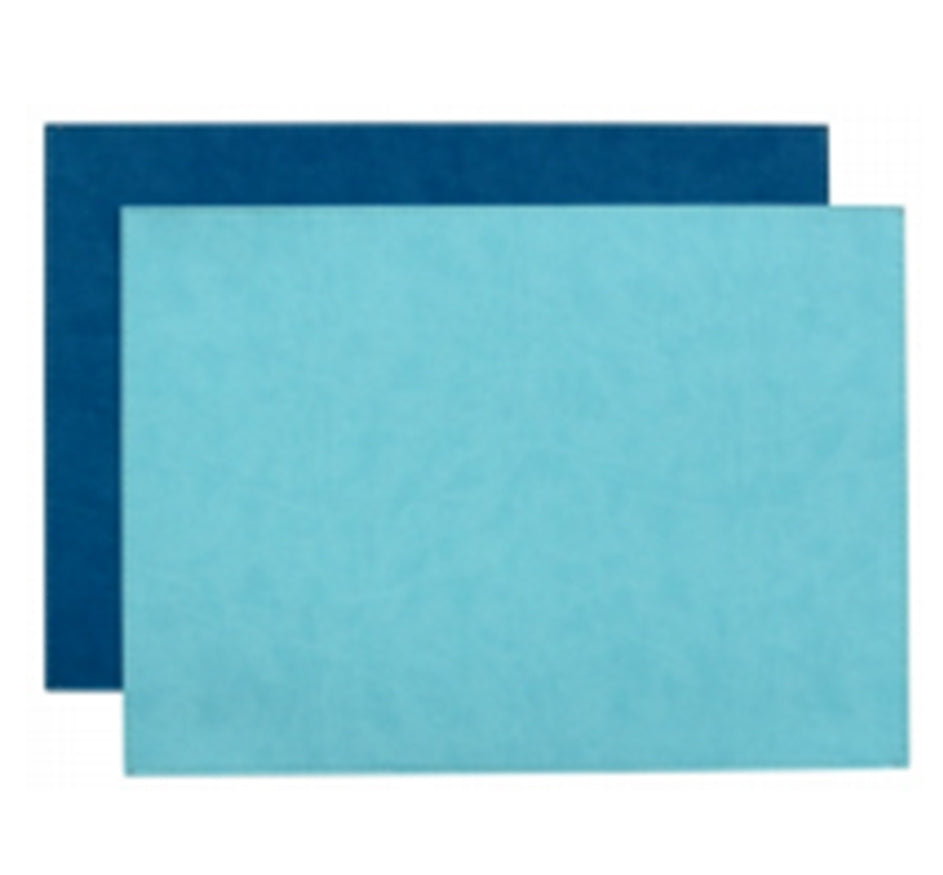 Reversible Gallery Placemat in Turquois & Teal (Set of 4)