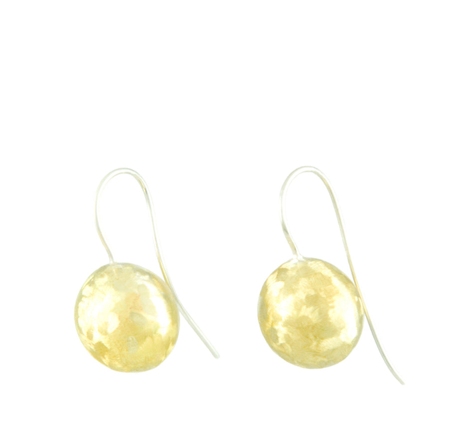 Ball Drop Earrings in Bronze