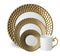 Aegean Dinnerware Collection in Gold