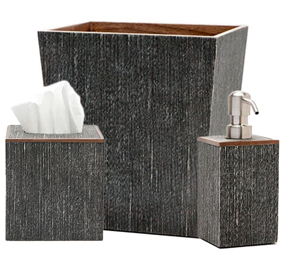Bruges Bath Collection in Charcoal