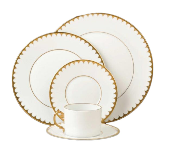 Aegean Dinnerware Collection in Filet Gold