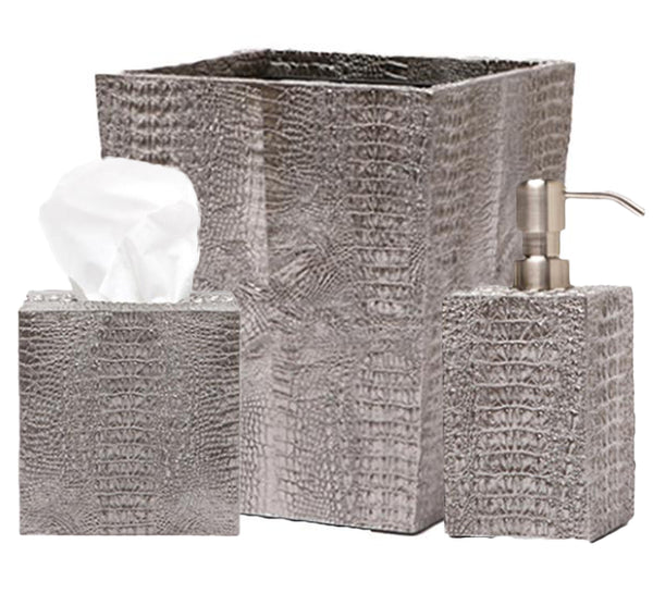 Hawen Bath Collection in Pewter