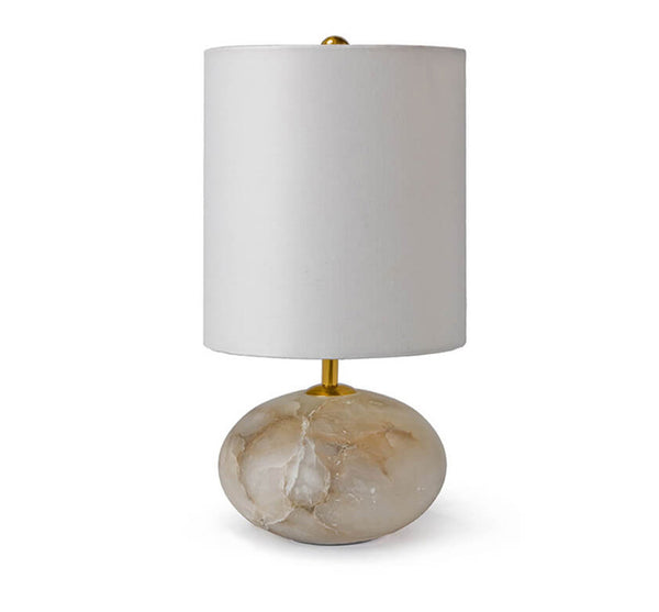 Small Alabaster Orb Lamp