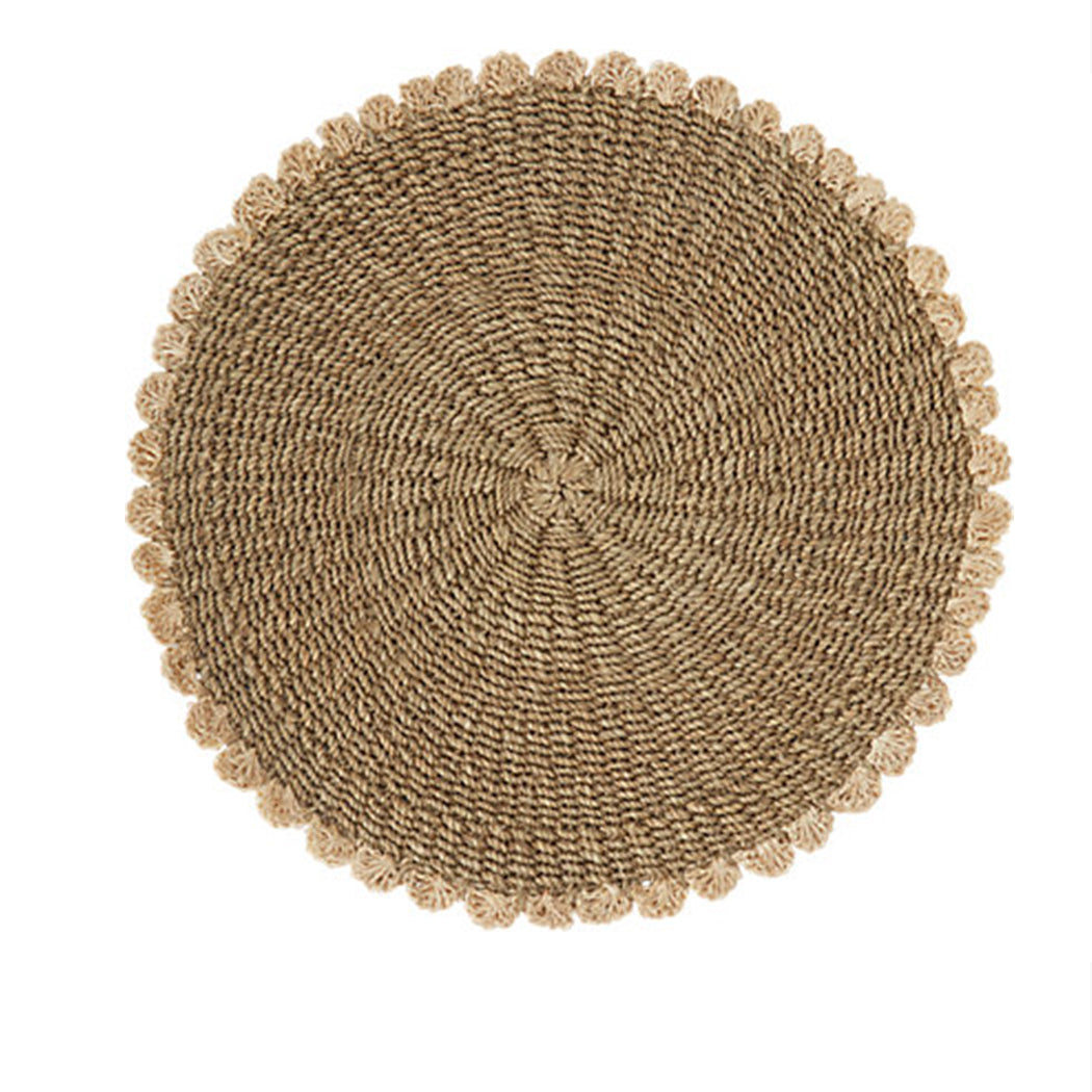 Tahitian Placemat in Taupe