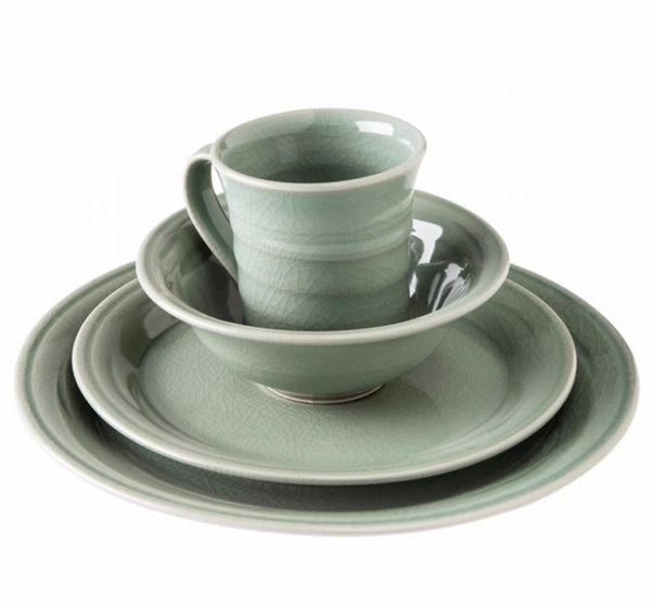 Belmont Dinnerware Collection in Celedon