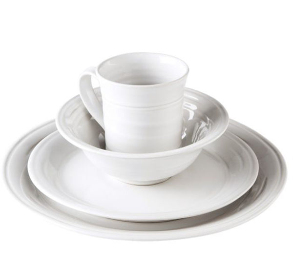 Belmont Dinnerware Collection in Dove White