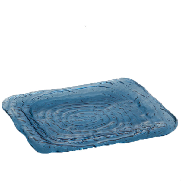 Small Rectangle Tray in Blue