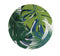 Mixed Leaves Melamine Plates -Set of 4