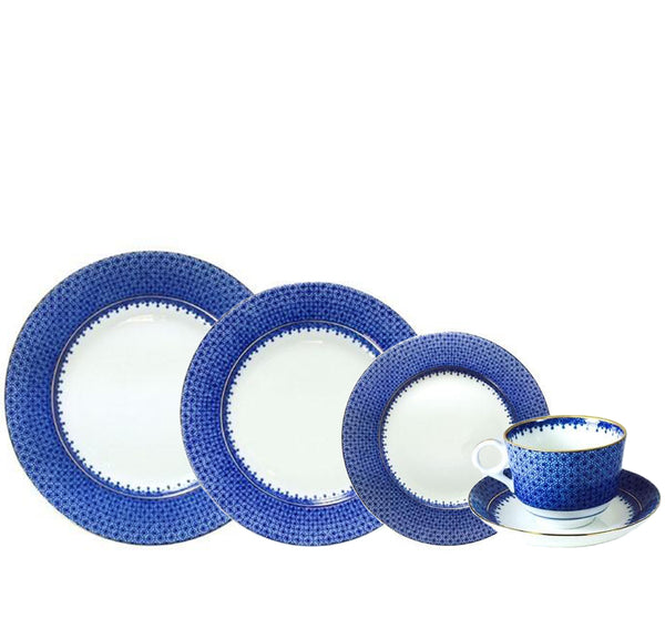 Lace Dinnerware Collection in Blue