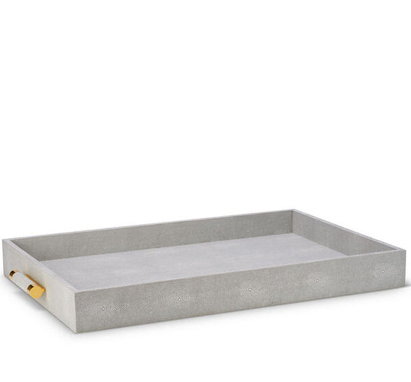 Classic Shagreen Butler Tray (Available In 3 Colors)