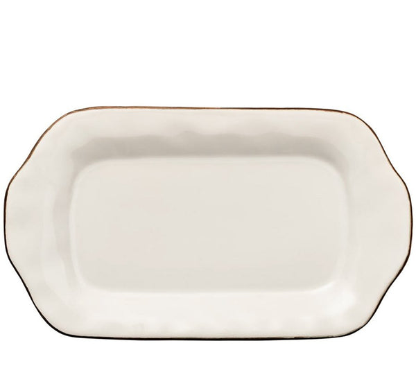 Cantaria Butter Dish in Ivory