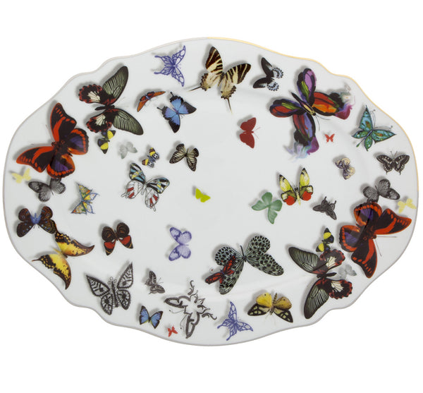 Butterfly Parade Small Platter