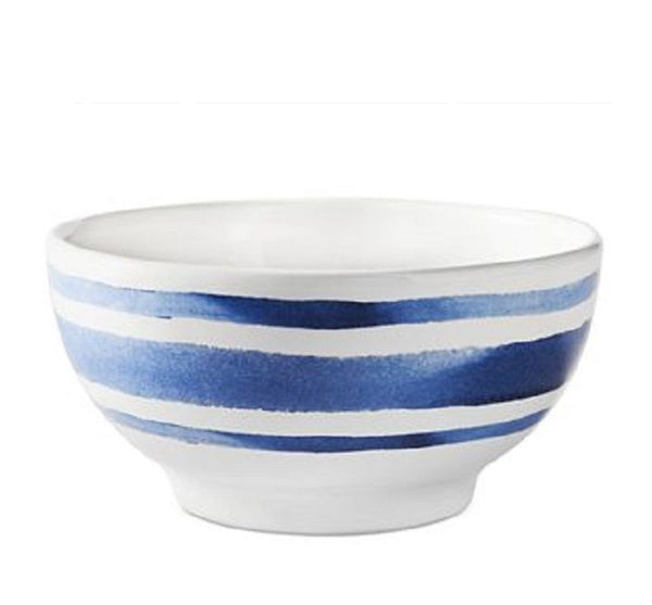 Cote d'Azur Stripe Fruit Bowl