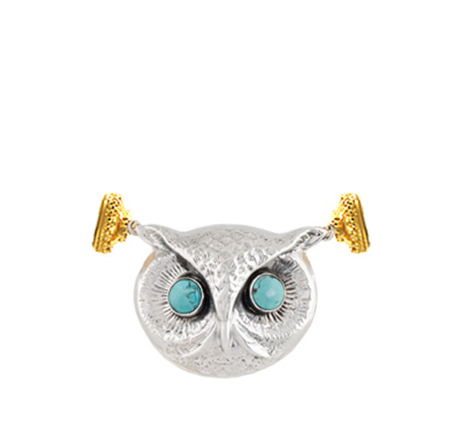 Sterling Silver Owl Centerpiece (Limited Edition)