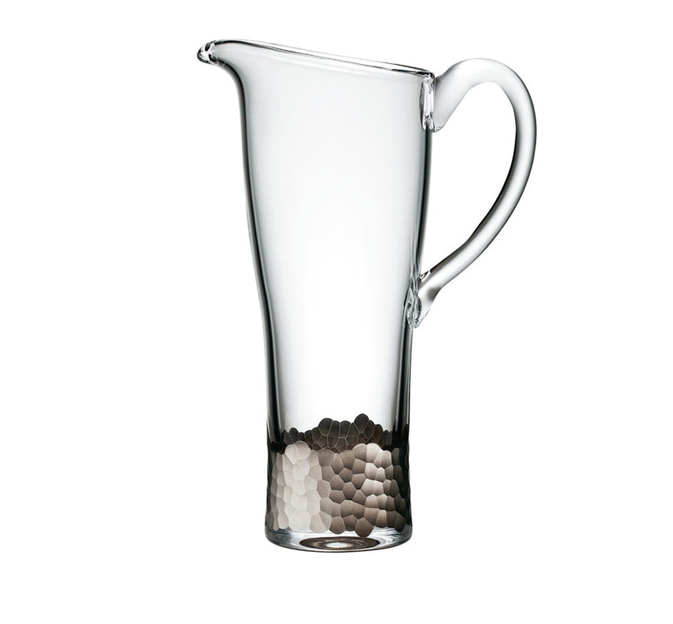 Pailette Pitcher in Platinum