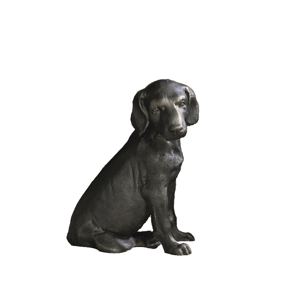 Lab Pup Sculpture